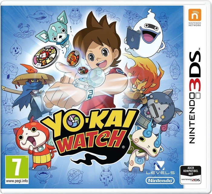 Yo-Kai Watch - Special Edition (German) (3DS)
