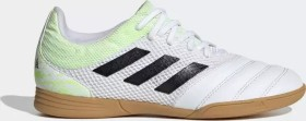 adidas Copa 20.3 Sala IN cloud white/core black/signal green (Junior) (EF1916)