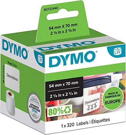 Dymo LabelWriter 99015 Etiketten 70x54mm (S0722440) -- via Amazon Partnerprogramm