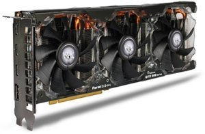 KFA² MDT X4 GeForce GTX 580 EXOC, 1.5GB GDDR5, 3x mini HDMI, DisplayPort (58NLH5DI5TKZ)