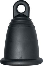 Me Luna Classic Ring Größe S Menstruationstasse schwarz (YC-7501-0015)