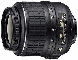 Nikon AF-S DX 18-55mm 3.5-5.6G VR schwarz (JAA803DA)