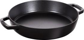 Zwilling Staub Bratpfanne rund mit zwei Griffen 26cm schwarz (40511-725-0)
