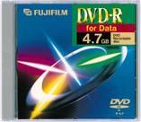 Fujifilm DVD-R 4.7GB 16x, sztuk 25 (47495)