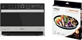Bauknecht MW 3391 SX Mikrowelle mit Grill/Heißluft/Halogengrill
