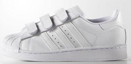 adidas Superstar ftwr Foundation ftwr Superstar Hvid Junior B25727 starting e5a4d2