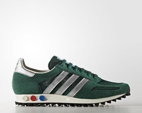 separation shoes db86f 7fa4e adidas LA Trainer OG collegiate greenmatte silver (męskie) (BB2818)