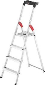Hailo L60 household ladder 4 stages (8504-001/8160-401/8160-407)