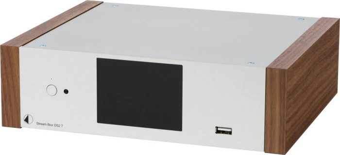 Pro-Ject Box Design Stream Box DS2 T silber/walnuss