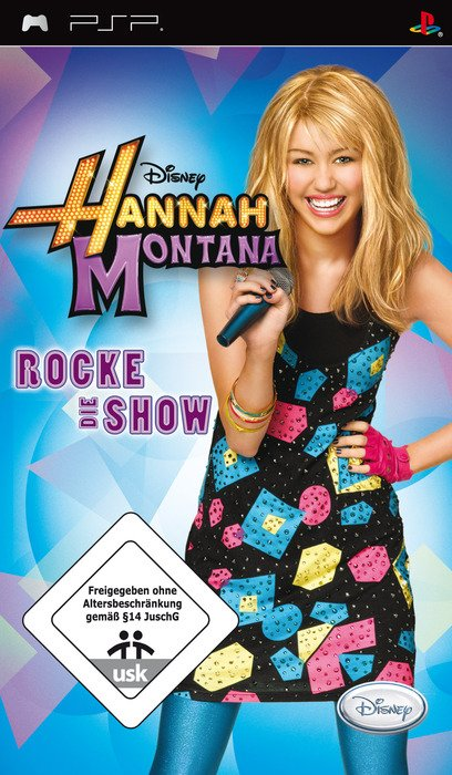 Hannah Montana - Rock out the Show (English) (PSP)