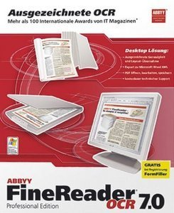 Abbyy: FineReader  7.0 Professional - Vollversionsbundle (PC)