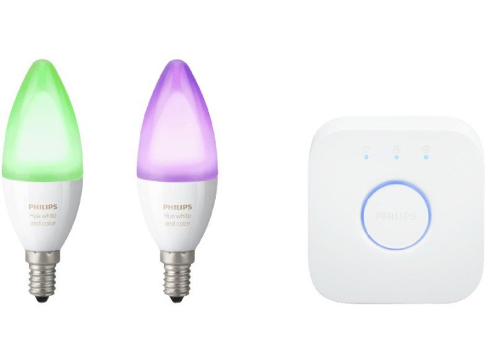 Philips Hue White and Color Ambiance E14 6.5W Starter-Kit (241343-00)