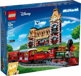 LEGO Exklusive Sets - Disney Zug mit Bahnhof (71044)