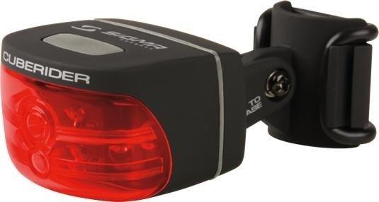 Sigma Sport Cuberider Rücklicht schwarz -- ©Sigma Sport