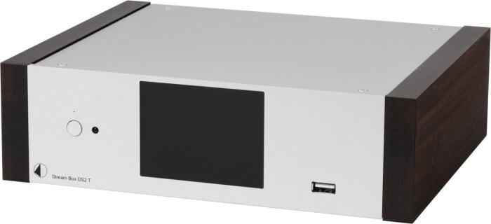 Pro-Ject Stream Box DS2 T silber/eukalyptus