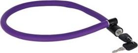 AXA Resolute 6-60 Kabelschloss, Schlüssel violett (59430604SC)