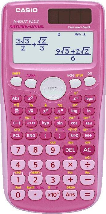 Casio fx-85GT Plus pink (FX-85GTPLUSPKSB-UH)