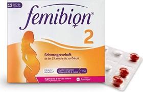 Femibion 2 Schwangerschaft Kapseln + Tabletten, 168 Stück (84 Kapseln + 84 Tabletten)