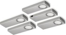 Naber Rea 1 LED 3000K Unterbauleuchte mit Schalter, 5er-Set (7064064)