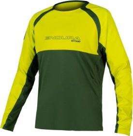 Endura MT500 Burner Jersey II Trikot langarm forest green (Herren) (E3184GF)