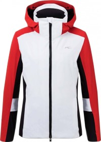Kjus Laina Skijacke white/fiery red (Damen) (LS15-G05-10008)