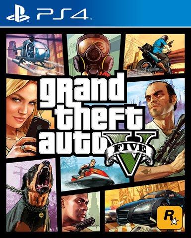 Grand Theft car V - Premium Edition (PS4)