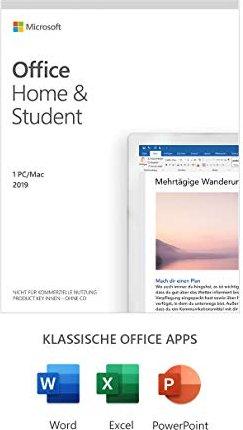 Microsoft Office 2019 Home and Student, PKC (multilingual) (PC/MAC) (79G-05153) -- via Amazon Partnerprogramm
