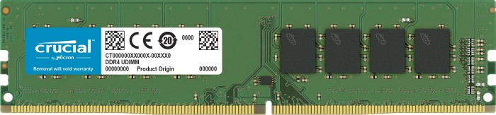 Crucial DIMM 16GB, DDR4-2400, CL17, ECC (CT16G4WFD824A)