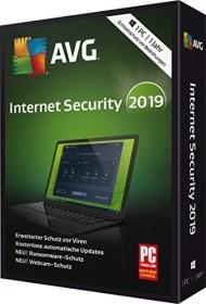 AVG Internet Security 2019, 1 User, 1 year (German) (PC)