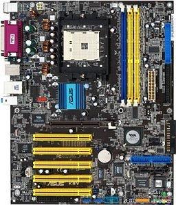 ASUS K8V, K8T800 (PC-3200 DDR)