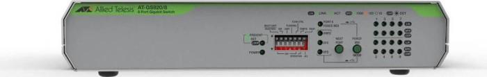 Allied Telesis CentreCOM GS920M desktop Gigabit switch, 8x RJ-45 (AT-GS920/8)
