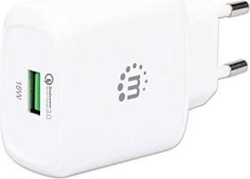 Manhattan QC 3.0 USB-Ladegerät 18W weiß (102285)