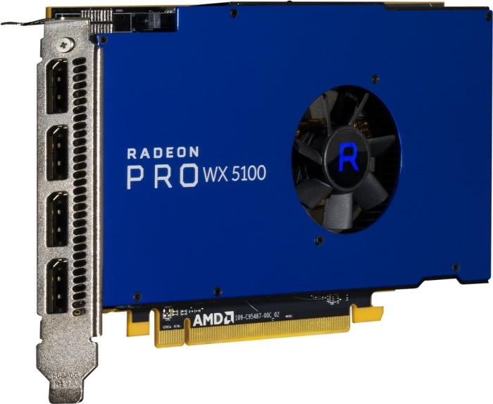 AMD Radeon Pro WX 5100, 8GB GDDR5, 4x DP (100-505940)