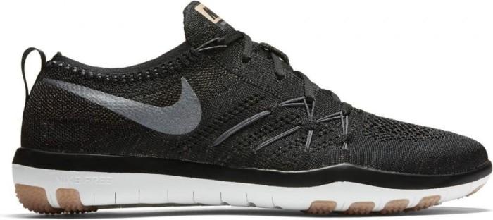3b5476e14f1a Nike Free TR Focus Flyknit black grey metallic red bronze cool grey ...
