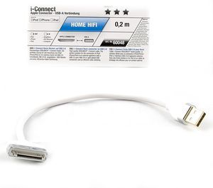 Oehlbach i-Connect 30-Pin/USB-Adapterkabel 0.2m (60048) -- © bepixelung.org