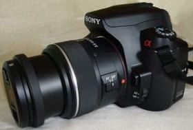 Sony Alpha 230 schwarz mit Objektiv Fremdhersteller