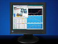 """Eizo FlexScan L680-K Schwarz, 18.1"""", 1280x1024, 2x RGB"""