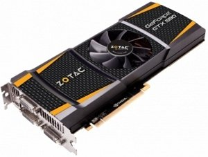 Zotac GeForce GTX 590, 2x 1.5GB GDDR5, 3x DVI, mini DisplayPort (ZT-50501-10P)