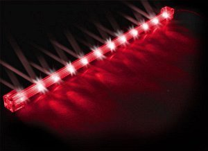 Sharkoon LED Flash Light rot