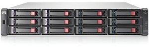 HP StorageWorks SAN P2000 G3 MSA SAS LFF, 8x SAS 6Gb/s, 2HE (AW593B)
