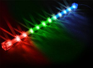 Sharkoon LED Flash Light tri-colour/RGB