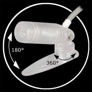 Sharkoon Laser LED spot Light niebieski