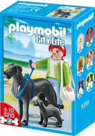 playmobil City Life - Dogge mit Welpe (5210)