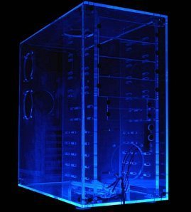 Sharkoon UVR Acrylic Showcase (ohne Netzteil)