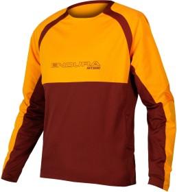 Endura MT500 Burner Jersey II Trikot langarm tangerine (Herren) (E3184OT)