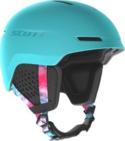 Scott Track Helm cyan blue/pink (271756-6631)
