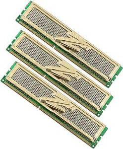 OCZ Gold Low-Voltage Intel Edition DIMM kit 6GB, DDR3-1333, CL9-9-9-20 (OCZ3G1333LV6GK)