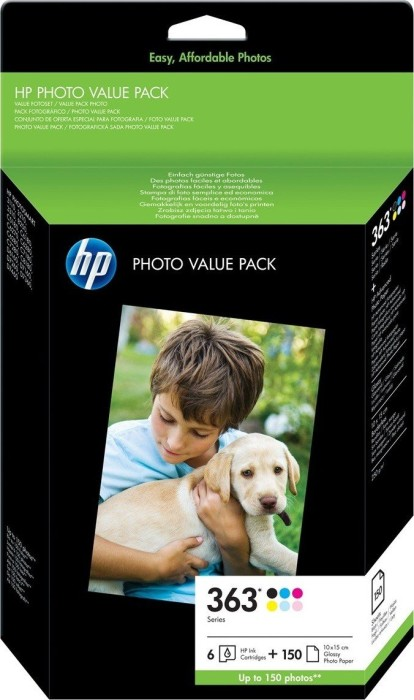 HP 363 Tinte Photo Value Pack (Q7966EE)