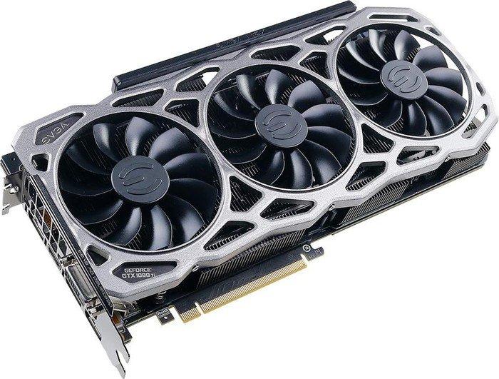 EVGA GeForce GTX 1080 Ti FTW3 Gaming, 11GB GDDR5X, DVI, HDMI, 3x DP (11G-P4-6696-KR)
