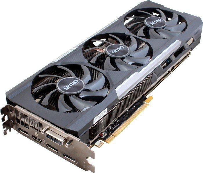 Sapphire Radeon R9 390X Nitro, 8GB GDDR5, DVI, HDMI, 3x DisplayPort, lite retail (11241-04-20G)